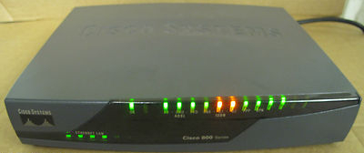 Cisco 876 4 Port Fast Ethernet Wired Network Router P N