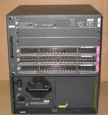 Cisco Catalyst 6500 Series WS-6500 WS-X6K-SUP1A-2GE WS-X6248 Switch