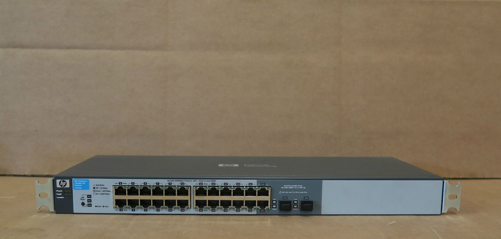 Hp Procurve 1810g 24 24 Port Layer 2 Managed Ethernet