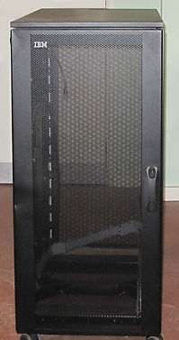 Ibm 9306 250 Netbay 25u Half Height Server Rack Cabinet