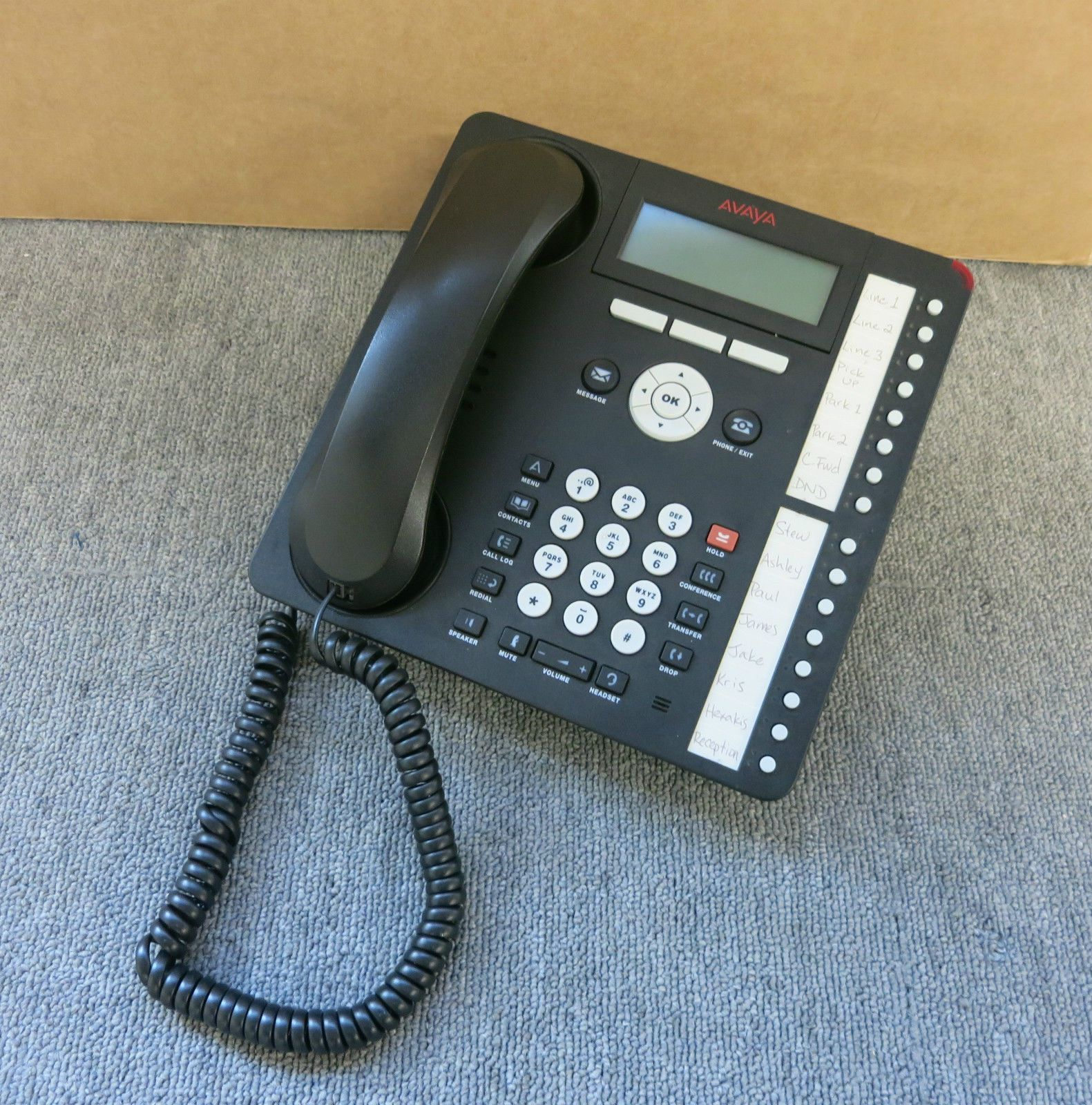 corded rca desk with p cid itad and tilt phone screen telephones