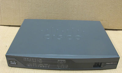 Gigabit Ethernet Router on Cisco 892 890 Gigabit Ethernet Security Router   Router   Isdn   8