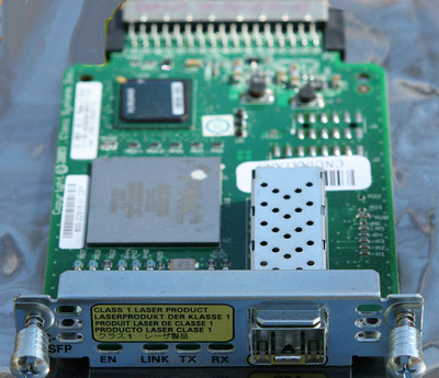 Gigabit Ethernet Speed on Cisco Hwic 1ge Spf Gigabit Ethernet High Speed Wan Interface Module