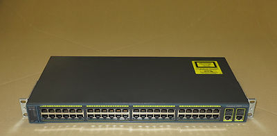 Port Network Switch on Cisco Ws C2960g 48tc L 2960 48 Port Managed Gigabit Network Switch