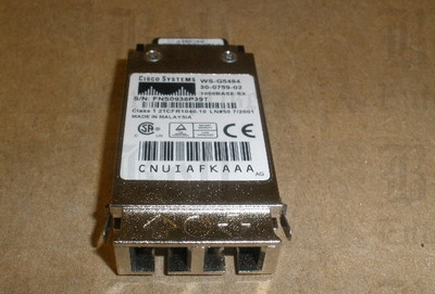 1000base on Genuine Cisco Ws G5484 Gbic Transceiver Module 30 0759 02 1000base Sx