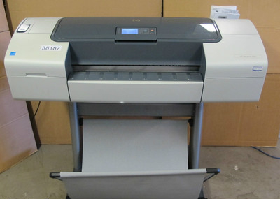 hp designjet t610 24 inch wide format colour performance