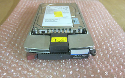 HP Invent Ultra 320 36.4GB SCSI Hot Plug Hard Drive HDD With Caddy