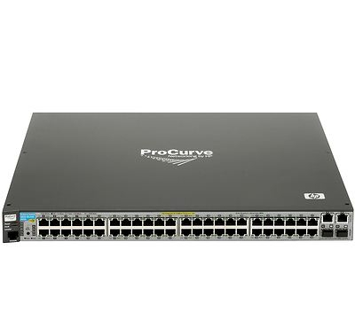 Port Ethernet Switch on E2610 48 Pwr 48 Port Gigabit Poe Ethernet Network Switch J9089a