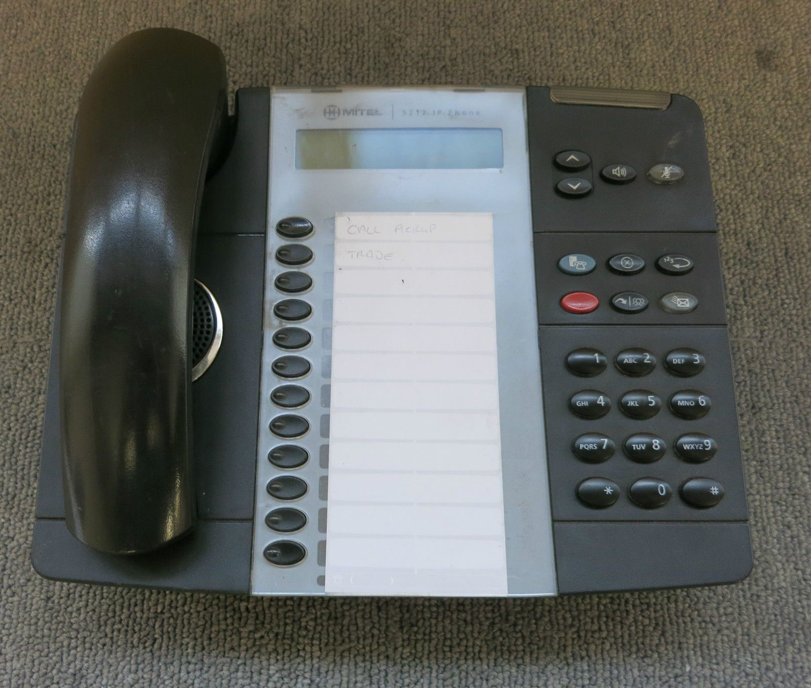 mitel 5212 ip phone manual