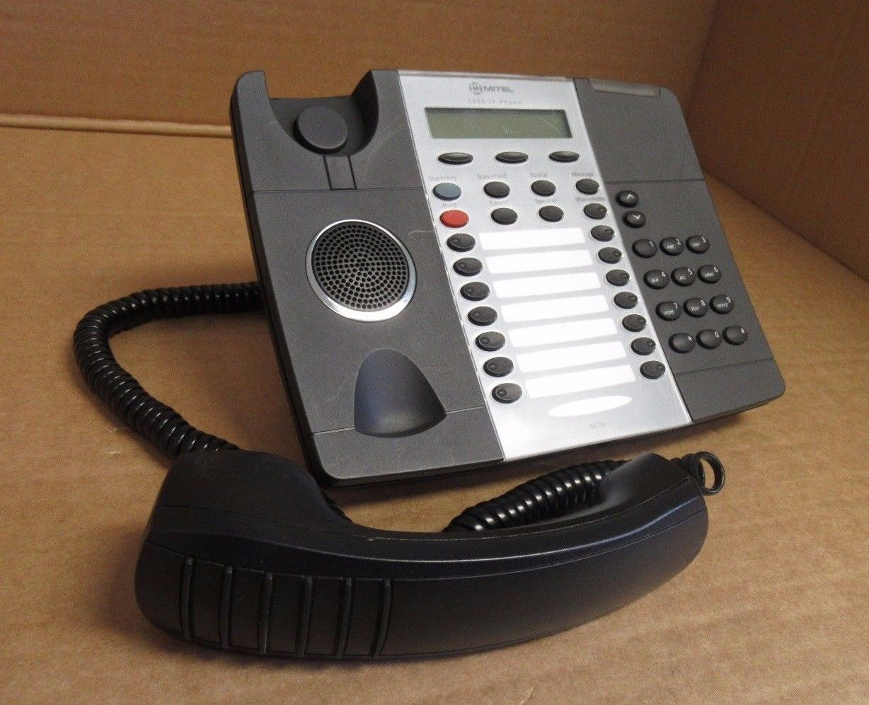 Mitel 5220 IP VoIP 24 Multi key Dual Mode Enterprise Phone with Stand