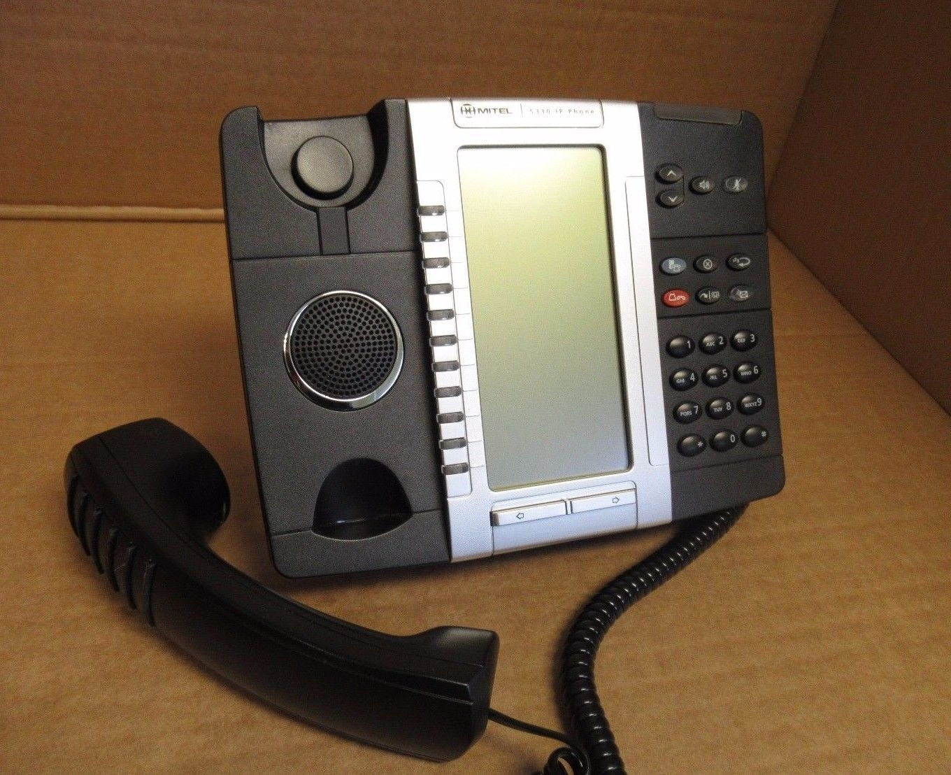 Mitel 5224 IP VoIP 24 Multi key Dual Mode Enterprise Phone with Stand