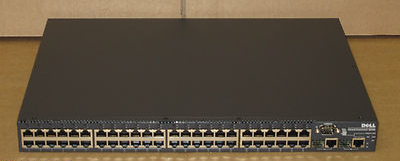 Ethernet Switch on Powerconnect 3248 48 Ports Fast Ethernet   2 Gig Network Switch 6x172