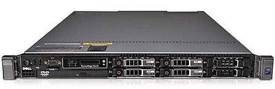 10 x Dell PowerEdge R610 2 x QUAD-CORE 16Gb 1u Rack Servers Package