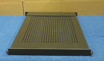 1U Rackmount Shelf For Server Networking Cabinets