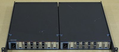 2 x IBM 3523-1RX Fibre Channel Hubs On Rack Mount Tray
