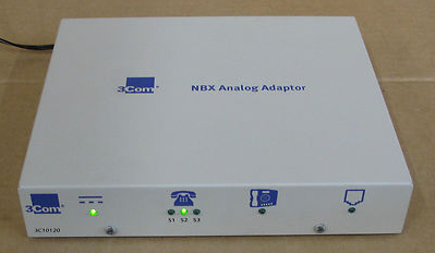 3COM 3C10120 NBX Analog Terminal Adapter, Network Switches