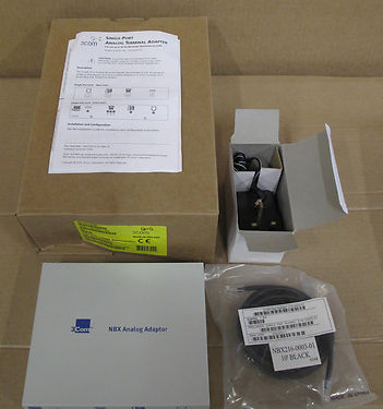 3COM 3C10120B NBX Analog Terminal Adapter, Network Switches