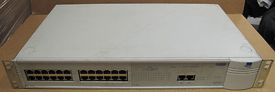 3COM 3C16950 SuperStack 2 1100 24-Port Ethernet Network Switch