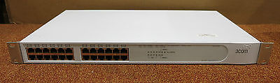 3Com 24-Port Fast Ethernet Network Switch 3C17203 4400 SuperStack 3 NO MODULES