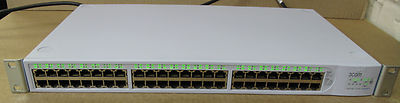 3Com 3C17204 Switch 4400 SuperStack 3, 48-Port Ethernet Switch,1720-410-050-3.01