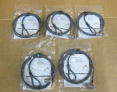 5 x Kensington TryTen - Laptop Security Combination Security Lock - K64596US