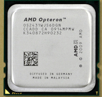 AMD Opteron 2431 2.4GHz 6Core 6MB L3 Cache CPU Processors OS2431WJS6DGN