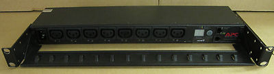 APC AP7920 Rack Power Distribution Unit PDU Manageable 1U 10A 208/230V 8 x C13