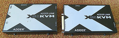 Adder X-series X-KVM/P KVM Cat 5 & Cat 6 Extender Local & Remote