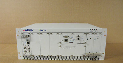Adva FSP-1 AG Optical Networking Switch Rack Mountable