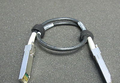 Amphenol Spectra Strip 4GB SFP SFP Copper Fibre Channel 0.6m Cable 17-05405-02