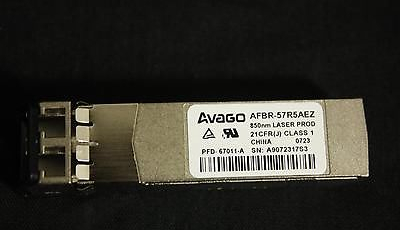 Avago AFBR-57R5AEZ 4.25Gb/s SFP Transceiver. 850nm. Fibre Optic / Fiber Optic