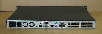Avocent DSR4030 16-Port KVM Over IP Switch 1 local, 4 digital Users 520-391-507