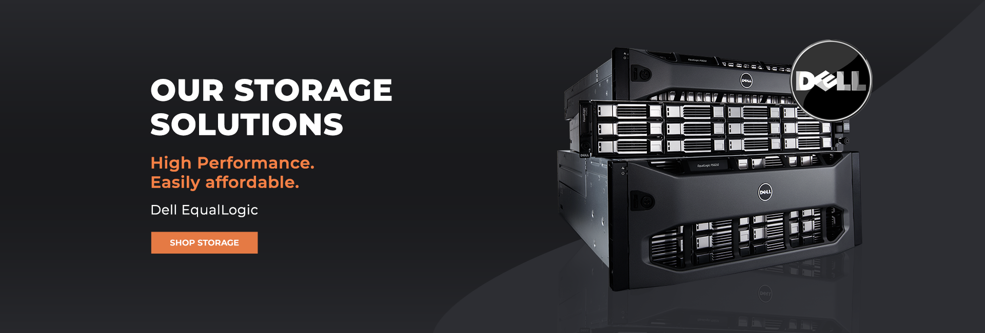 Dell EqualLogic Storage Banner