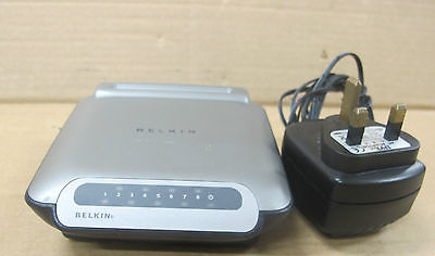 Belkin 8 Port 10/100 Network Switch - Model F5D5131-8