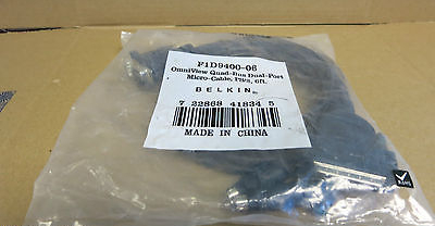 Belkin New F1D9400-10 Dual Port PS/2 & VGA Bonded Cable