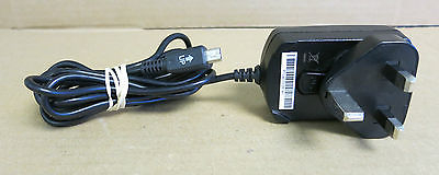 Blackberry 07559-001 AC Power Adapter 5V 0.5A UK Plug - Model: PSM05R-050CHW