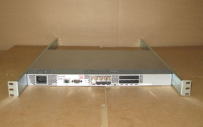Brocade 200E 16 Port (8 Active) 4 Gb/s Fibre Channel SAN Switch With GBIC