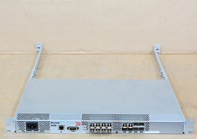 Brocade 200E SM-210E-R0000 16-Port 4Gb Fibre Channel FC Switch - 12 Ports Active