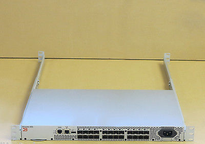 Brocade 300 HD-360-0004 24-Port 8Gb Fiber Channel FC Switch 24 Ports Active