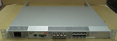 Brocade Silkworm 200E Fibre Channel Switch 1U Rackmount P/n SM210E-0000