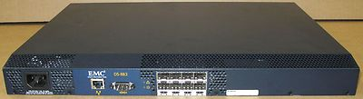 Brocade Silkworm 3250 EMC DS-8B3 2GB Fibre Channel FC 8-Port Switch 100-560-145
