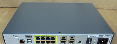 Cisco 1812 Cisco1812 8 Port Fast Ethernet 10 100 Network