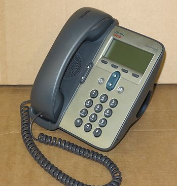 Cisco CP-7911G 7911 VoIP IP Desktop Display Phone Telephone