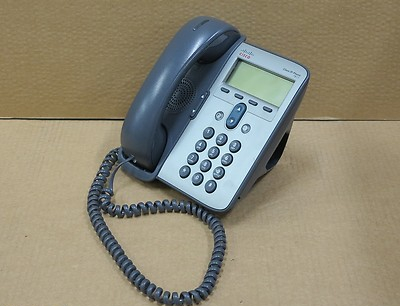 Cisco CP-7911G 7911 VoIP Unified IP Desktop Business Display Phone Telephone
