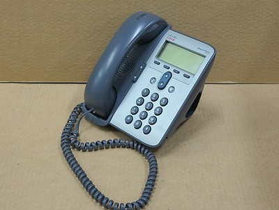 Cisco CP-7911G VoIP Unified IP Desktop Business Display Phone Telephone