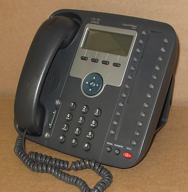 Cisco CP-7931G 7931G VoIP IP Phone Telephone 68-2739-01 SCCP, SIP, DHCP
