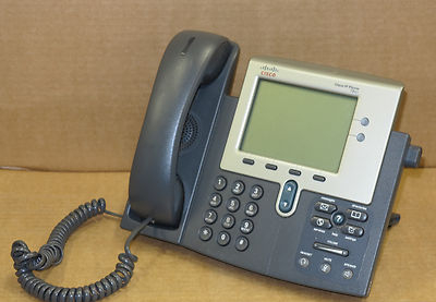 Cisco CP-7941G 7941 Desktop Business VoIP IP Display Phone Telephone