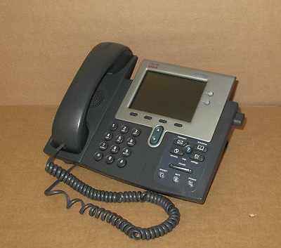 Cisco CP-7941G 7941 VoIP IP Phone Telephone - Good condition, tested