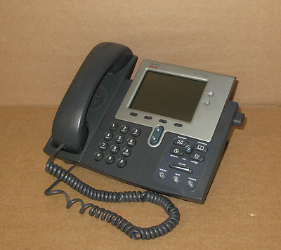 Cisco CP-7941G VoIP IP Phone Telephone - Good condition, tested