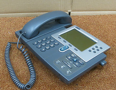 Cisco CP-7960G 7960 7900 Series IP VoIP Desk Phone Business Telephone NO Stand